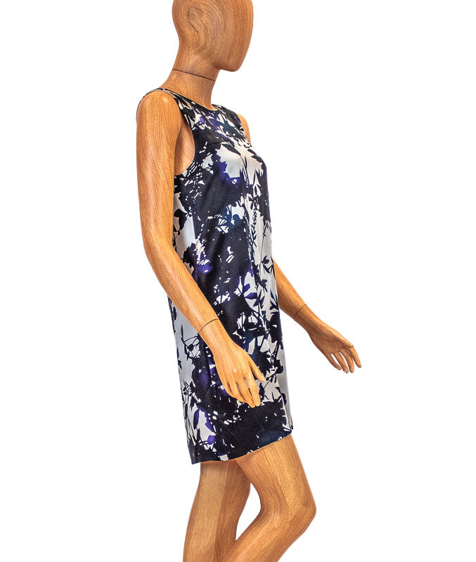 Floral Sleeveless Sheath Dress