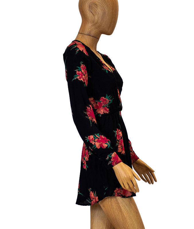 """Elle"" Floral Mini Dress"