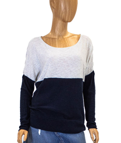 Block Colored Long Sleeve Top