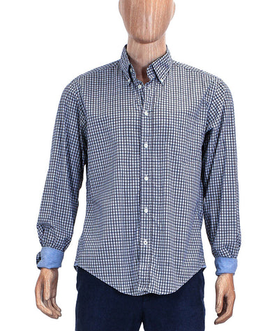 Patch Pocket Plaid Button Down