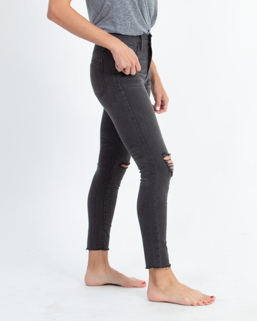 """9"" Mid-Rise Skinny"" Jeans"
