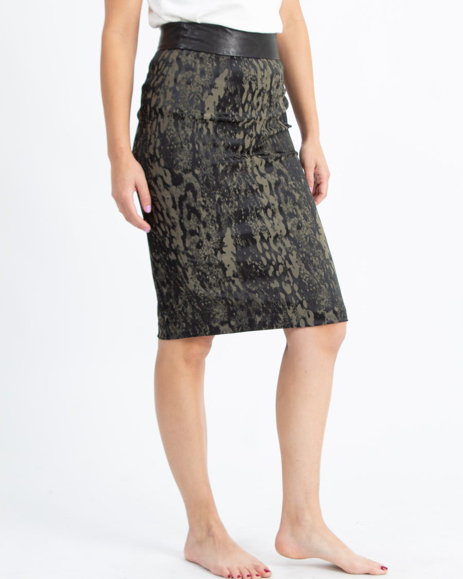 """Rich Girl"" Pencil Skirt"