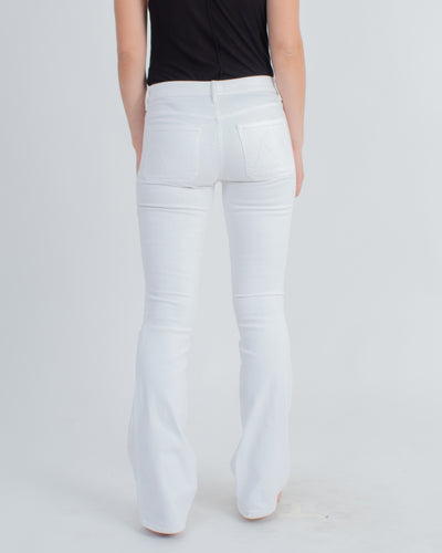 """The Patch Slacker"" Flared Jeans"