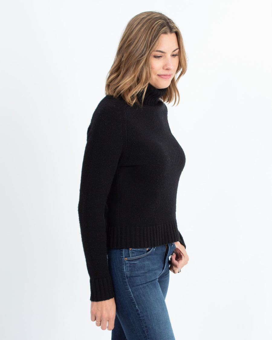 Cashmere Pullover Turtleneck Sweater