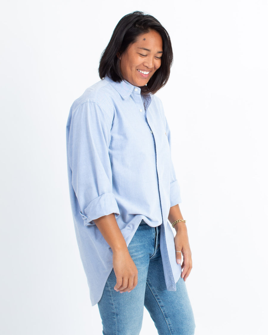 Casual Cotton Button Down