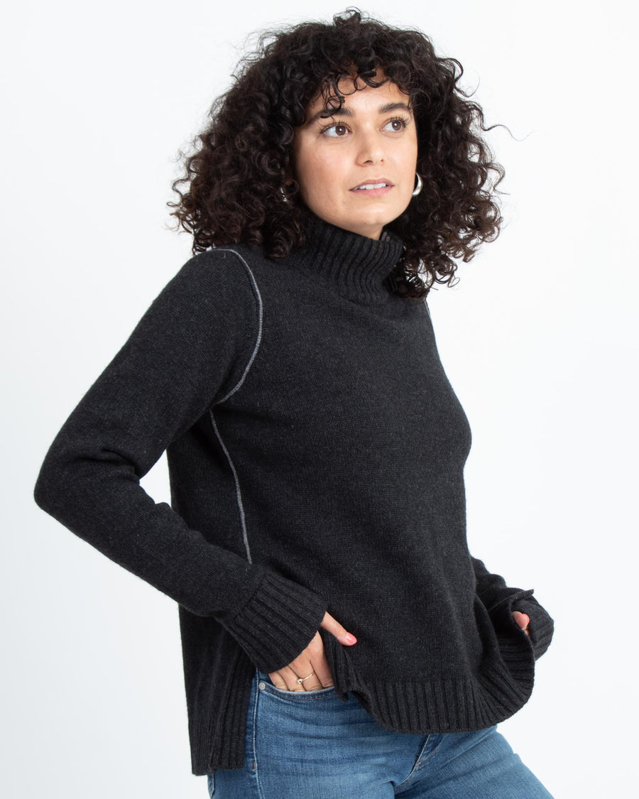 Pullover Turtleneck Sweater