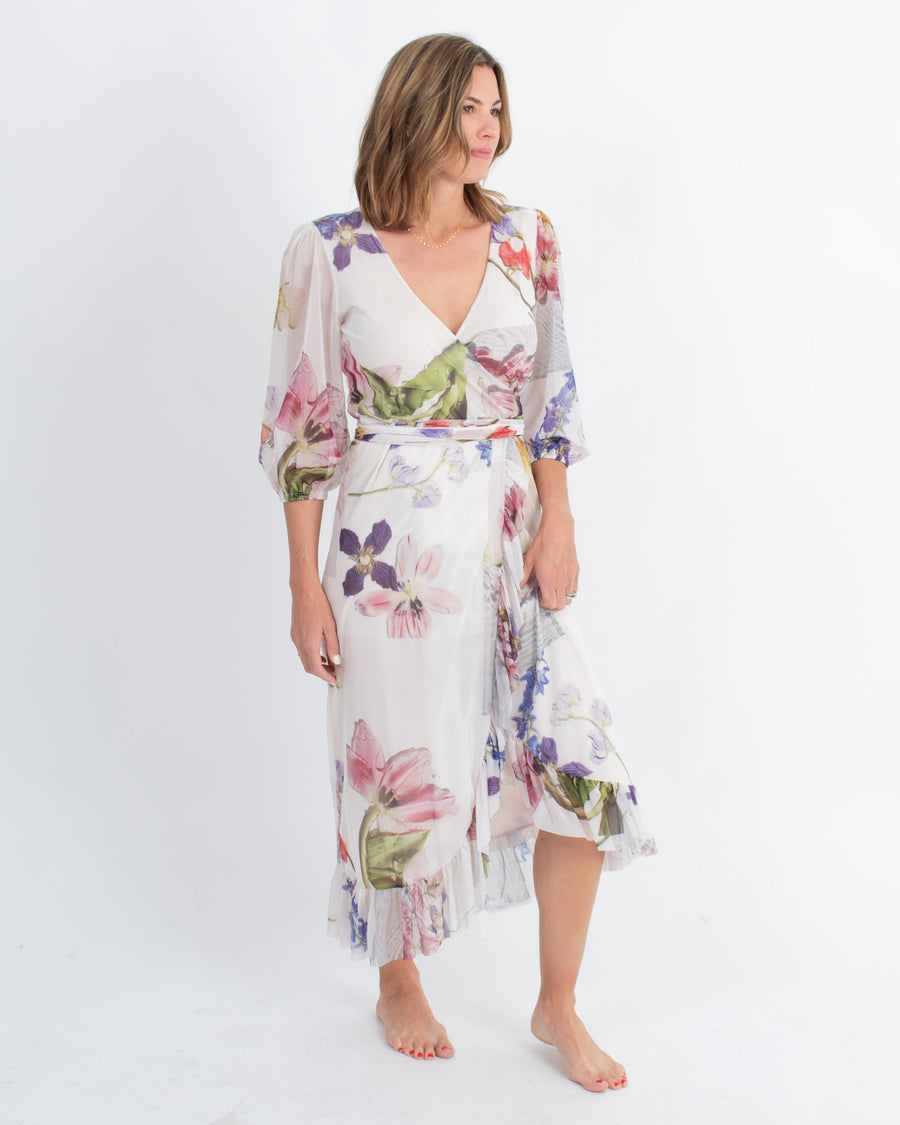 """Tilden"" Flower Dress"