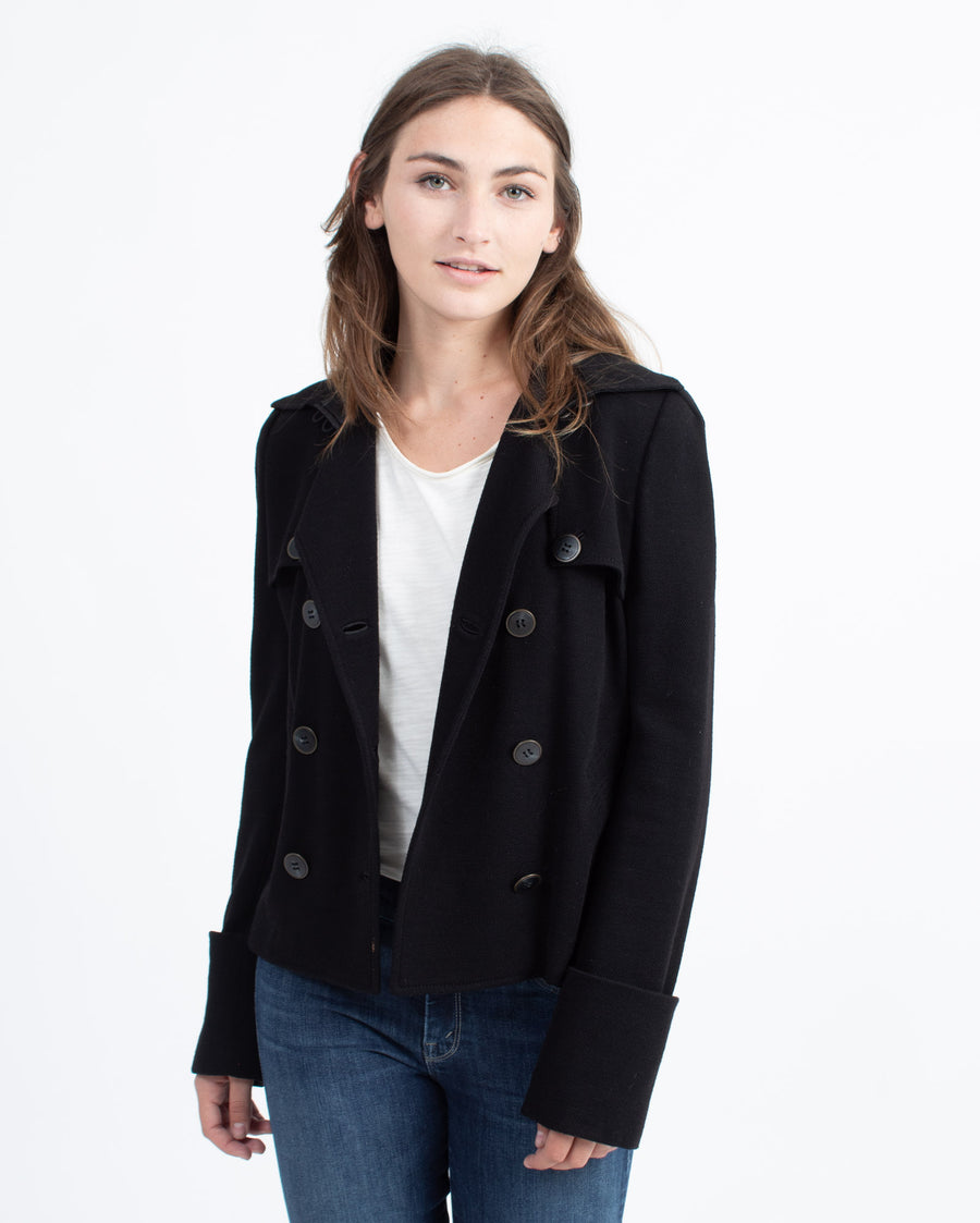 Elliot Short Wool Jacket