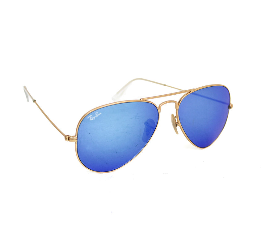 Aviator Mirrored Sunglasses