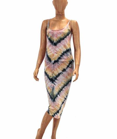 Tie Dye Spaghetti Strap Dress