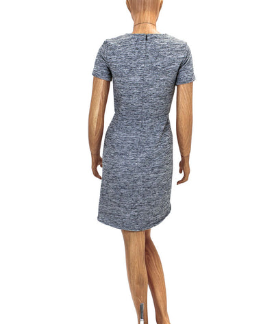 Structured Heather Grey Sweater Dress