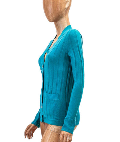 Fitted Cashmere Cardigan