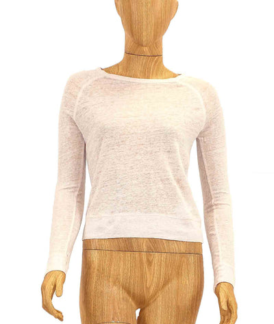 Long Sleeve Raglan Linen Tee
