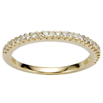 INEO Women's Ring - Engagement Ring Trendy Yellow Gold / Pink Gold / Rhodium