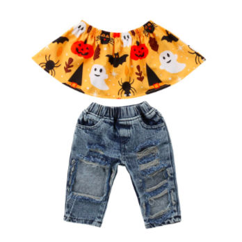PREORDER Bring on Halloween Baby Outfit