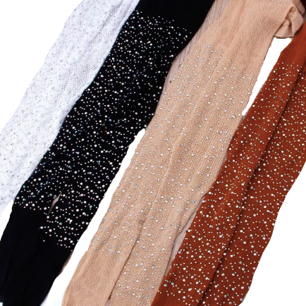 PREORDER All About That Bling Baby Tights - Neutrals