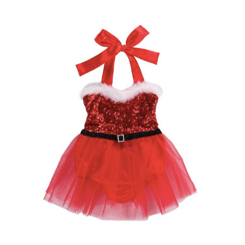 PREORDER Silly Lil Santa Baby Romper