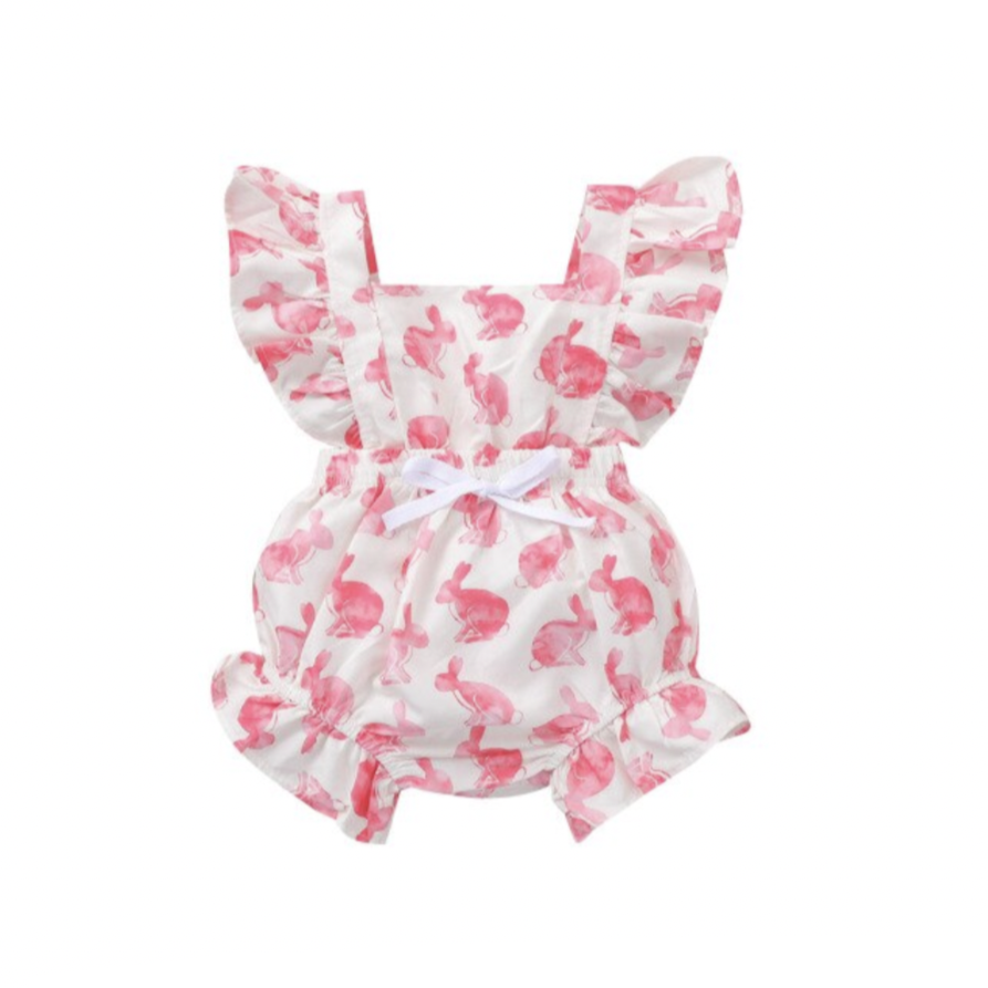 PREORDER Perfect Bunnies Baby Rompers