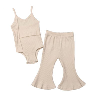 PREORDER Just Creamy Baby Girl Outfit
