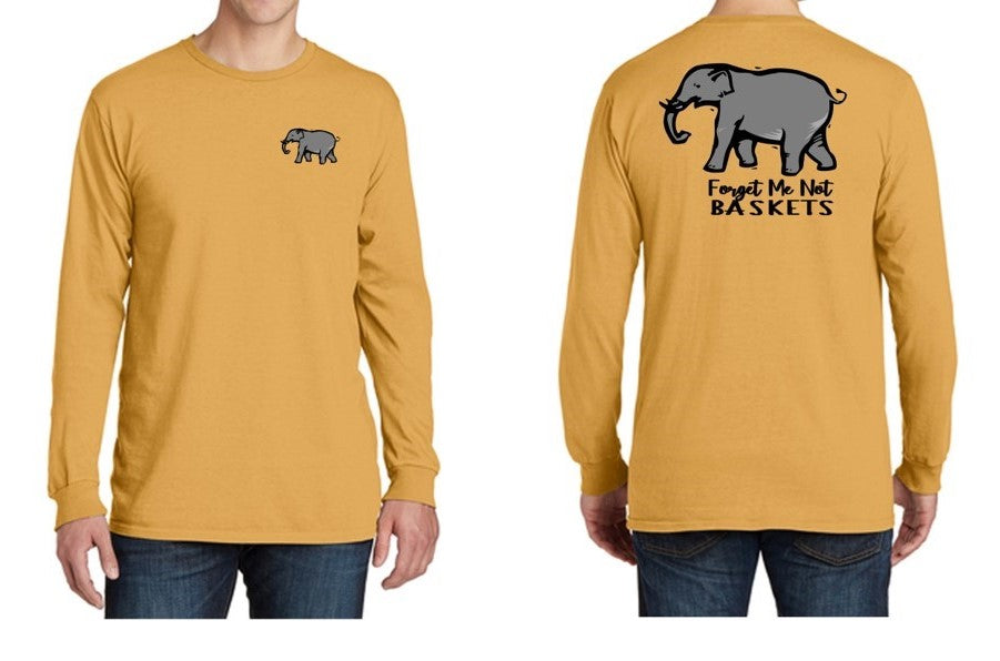 Dijon/Elephant - Long Sleeve Fall Shirt