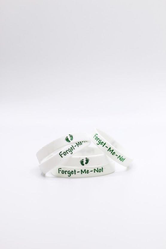 Forget-Me-Not Wristband