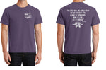 Vintage Plum/Love Kindness Compassion - Short Sleeve Fall Shirt