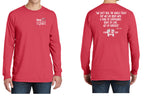 Poppy/ Love, Kindness, Compassion - Long Sleeve Fall Shirt