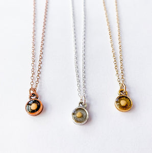 Mini Mustard Seed Necklace