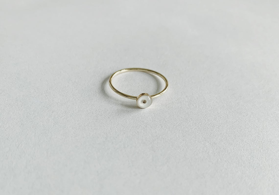 Poppy Seed Remembrance Ring