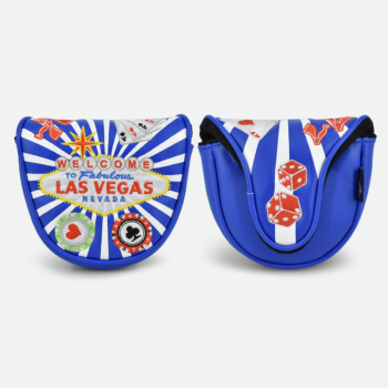 Las Vegas Mallet Putter Headcovers (2 Colours)