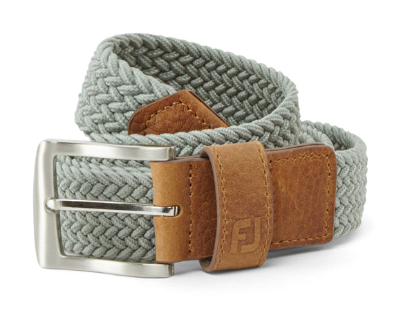 Footjoy Grey Braided Belt