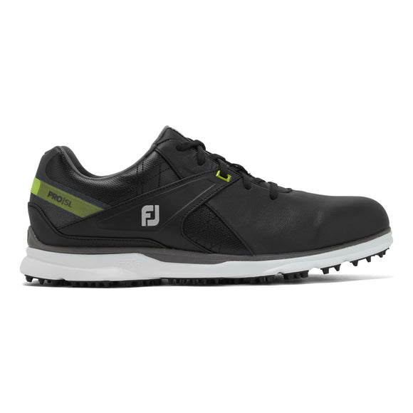 Black FootJoy Pro SL Golf Shoes