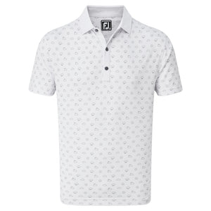 FootJoy Smooth Pique Weather Print Golf Shirt 84397