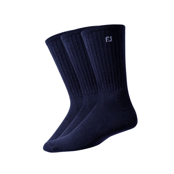 Footjoy ComfortSof Crew 3 Pair Pack (3 Colours)