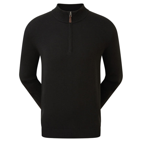 Footjoy Wool Blend Half-Zip Pullover