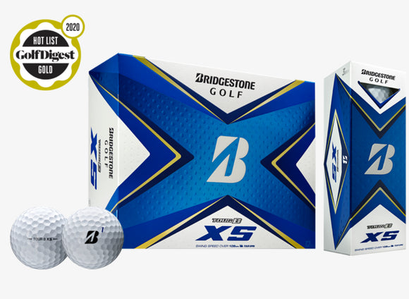 Bridgestone Tour B XS Golf Balls Dozen