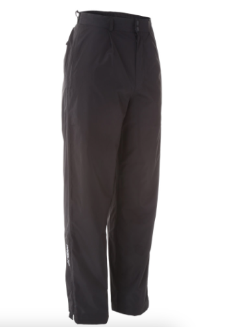 ProQuip Tempest Waterproof Rain Trousers Black