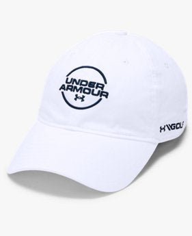 Under Armour Jordan Speith Washed Cotton Cap White