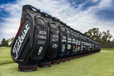 Titleist Tour Staff Golf Bag Jet Black Collection