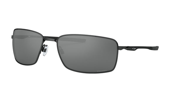 Oakley Square Wire Sunglasses Polished Black with Prizm Black
