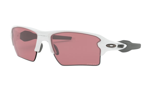 Oakley Flak 2.0 XL Sunglasses Polished White with Prizm Dark Golf
