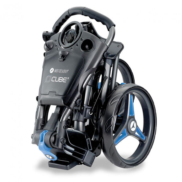 Motocaddy CUBE 3 Push Trolley - In Stock