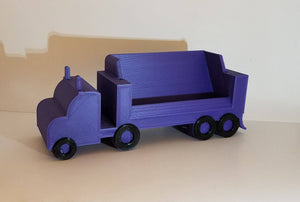 Semi Truck | Tractor Trailer | Business card holder | Trucking Company | Big Rig | Custom Holder | Office | Desk | Business Accessory |
