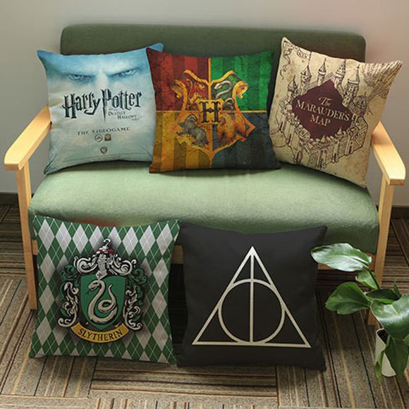 Harry Potter Pattern Cotton Pillow