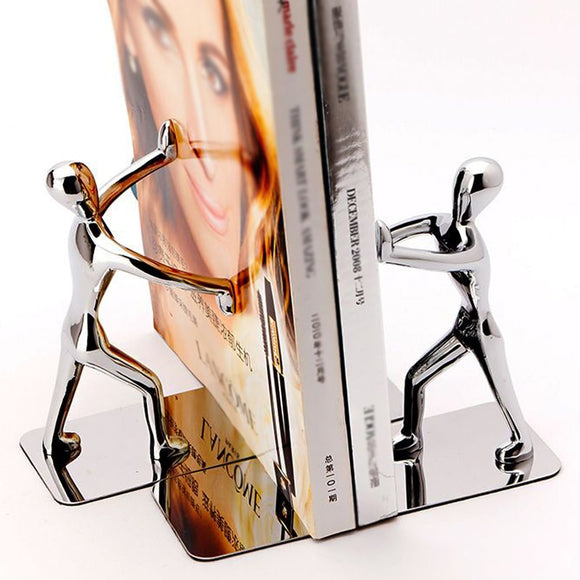 Stainless Steel Human Shaped Bookends