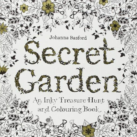 Secret Garden Coloring book – All Seasons Book Lover Gifts