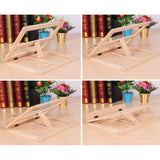 High-Quality Multi-Function Solid Wood Book Support Tablet Computer Holder