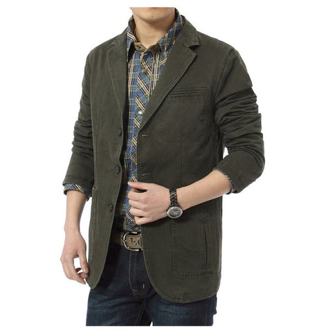 Autumn winter men casual Blazer