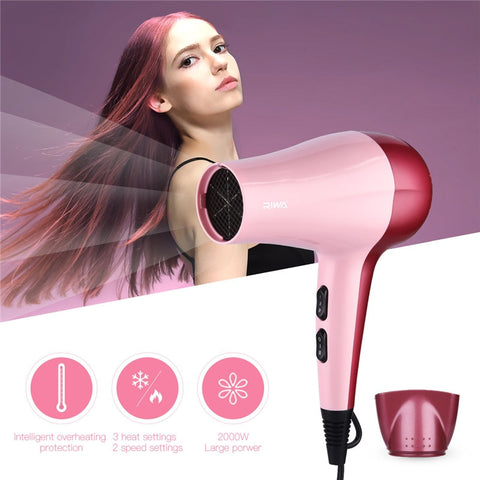 Professional 2000W Large Power Hair Dryer