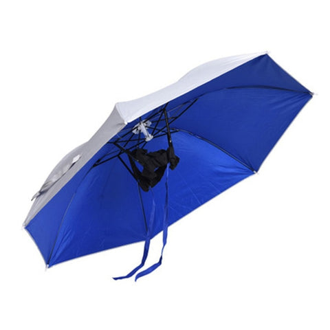 Single Foldable Sun Umbrella Hat